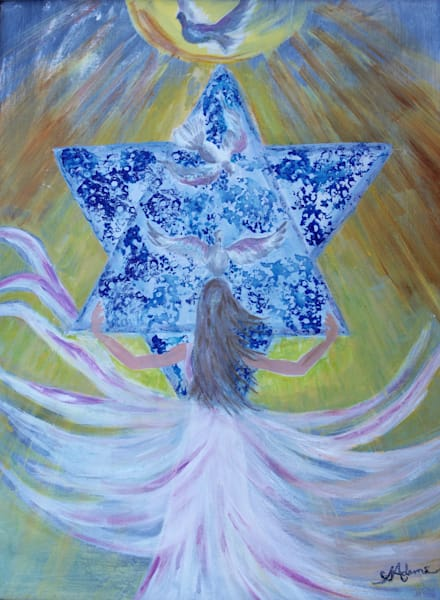 """True Worship"" by Sharon Adams 