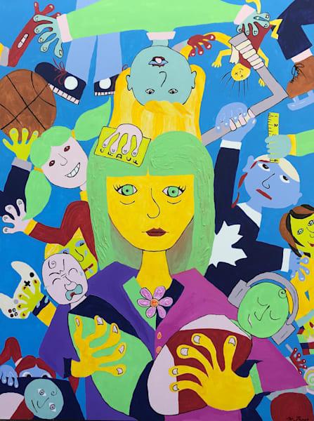 Motherhood by Michele Taras | SavvyArt Market original painting