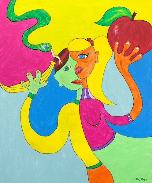 Temptation by Michele Taras | SavvyArt Market original painting