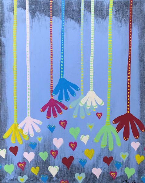 Hands and Hearts by Michele Taras | SavvyArt Market original painting