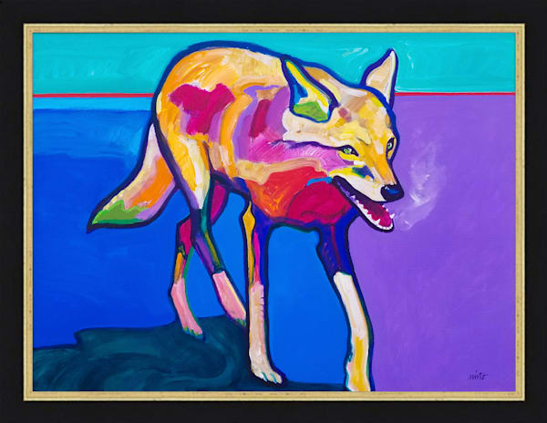 Coyote Visitation | John Nieto Original Painting