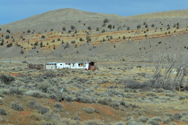 Photograph of a trailer house for sale as Fine Art