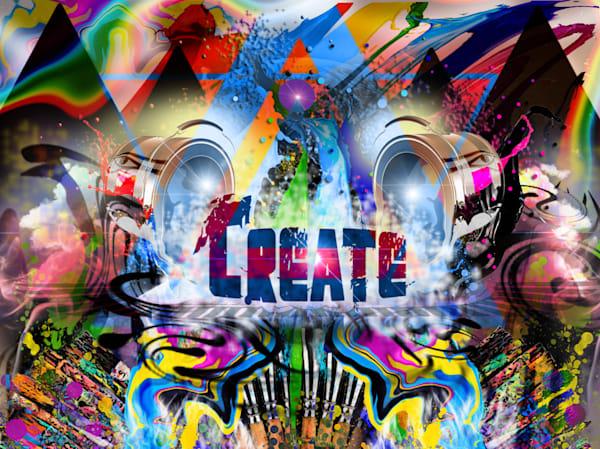 Create Splatter Art | CMS Art Prints
