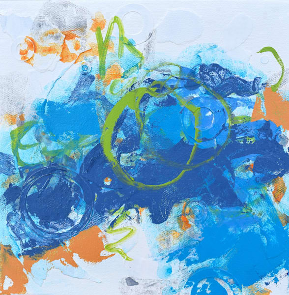 Whimsical Abstract Color Art for sale | Anne Rivers
