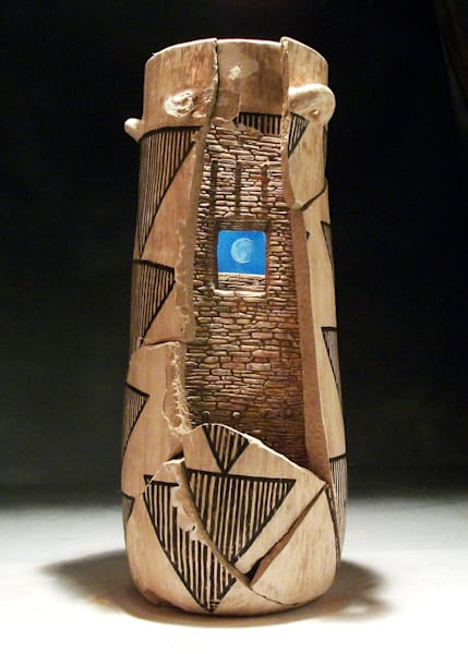 Chaco Window Sculpture | Southwest Art Gallery Tucson