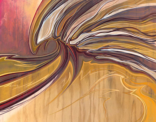 Windswept Painting by Spencer Reynolds