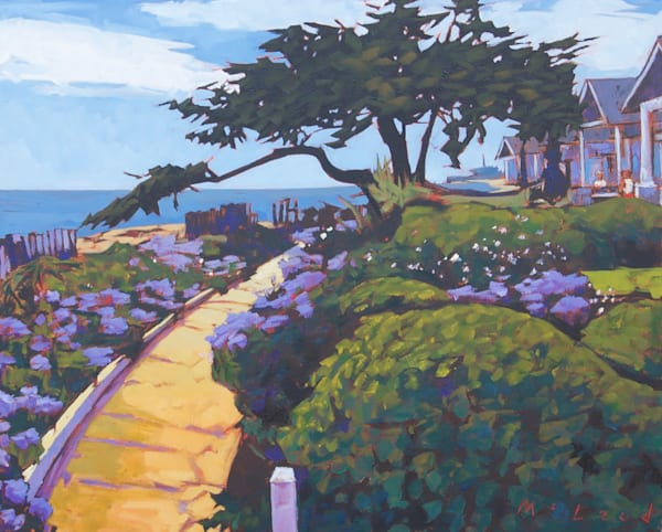 "Ocean Garden, fine art print from original 16"" x 20"" oil on canvas by Matt McLeod."