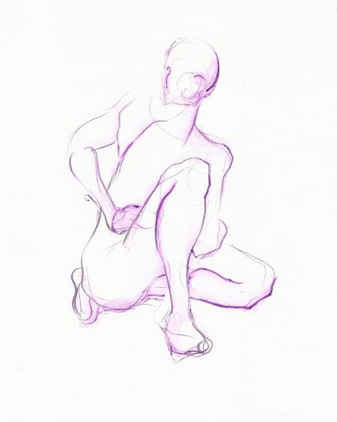 Original Yoga Drawing