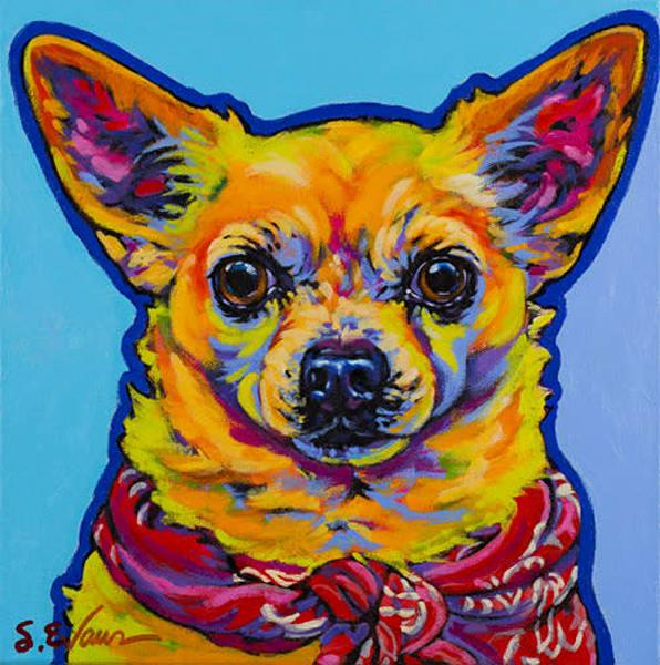 Leo | Sally C. Evans Fine Art