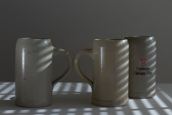 Fine Art Photographs of Mugs in the Afternoon by Michael Pucciarelli