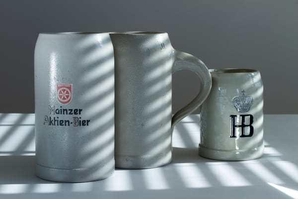 Fine Art Photograph of Mugs in the Afternoon by Michael Pucciarelli