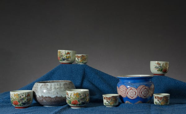 Fine Art Photograph of Mugs and Chinaware by Michael Pucciarelli