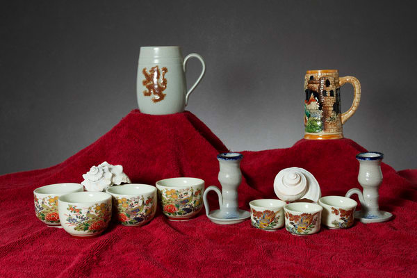 A Fine Art Photograph of Mugs by Michael Pucciarelli
