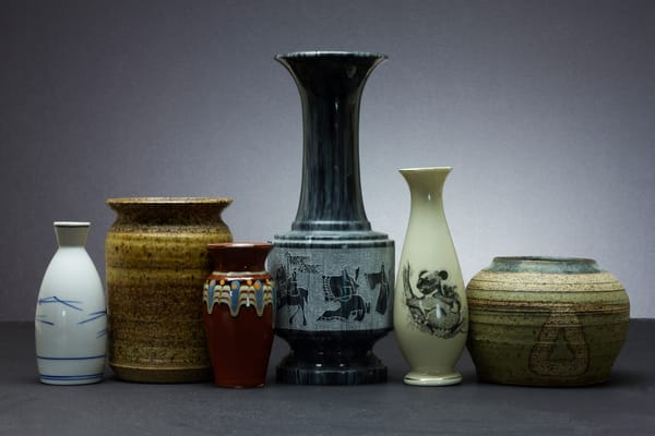 Fine Art Photographs of Vases by Michael Pucciarelli
