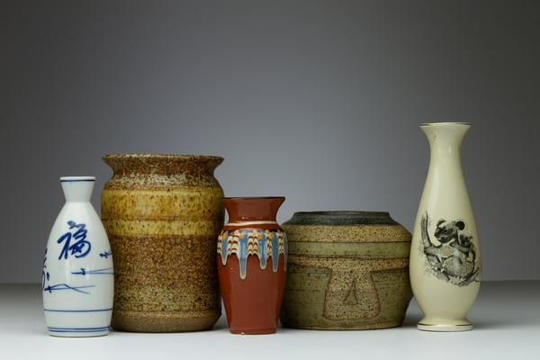 Fine Art Photograph of Mugs and Vases by Michael Pucciarelli