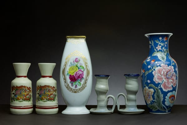 Vases with Chinaware