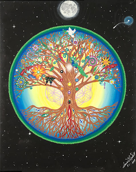 Tree of Life fine art print by Sonia Elizabeth Menning.