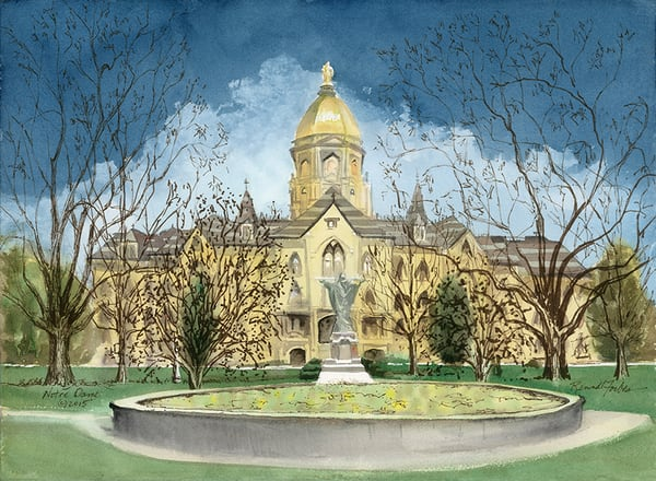 Notre Dame Art | Digital Arts Studio / Fine Art Marketplace