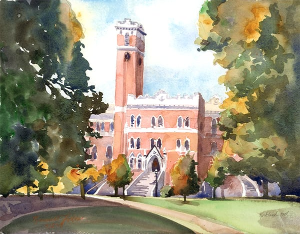 Vanderbilt Kirkland Hall Art | Digital Arts Studio / Fine Art Marketplace