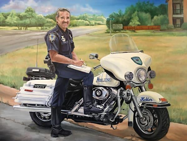 Officer Rodney Holder Art   Creative Kina