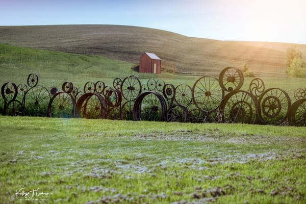 Wagon Wheels And Barn Photography Art | Images2Impact