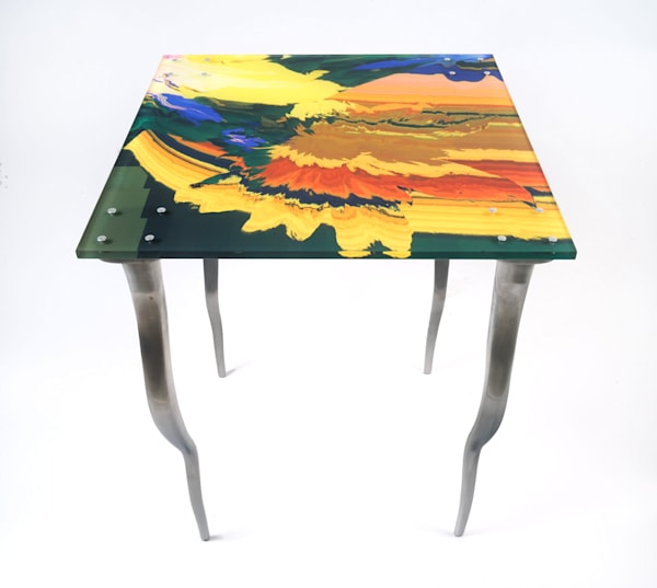 Cecropia Eruption End Table