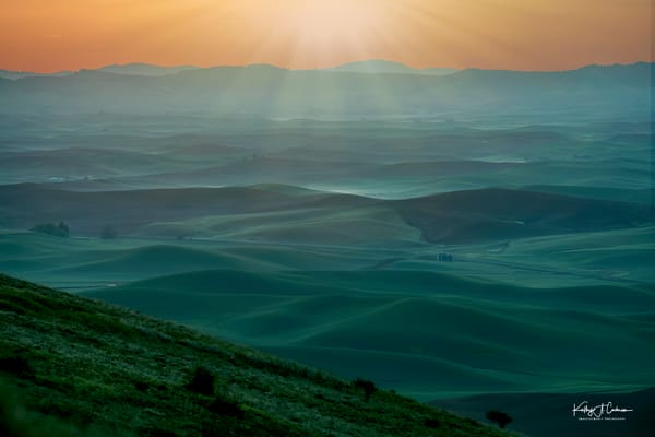 Sunrise Over Palouse Photography Art | Images2Impact