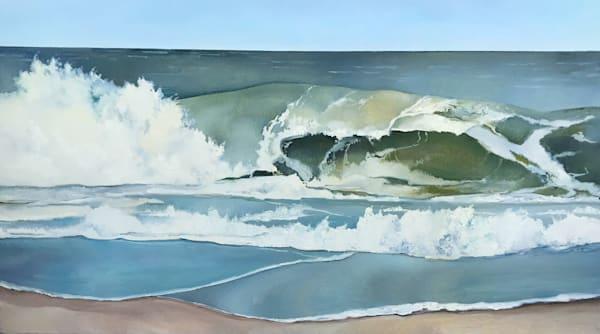 Waves by Brigitte Nowak | SavvyArt Market original art