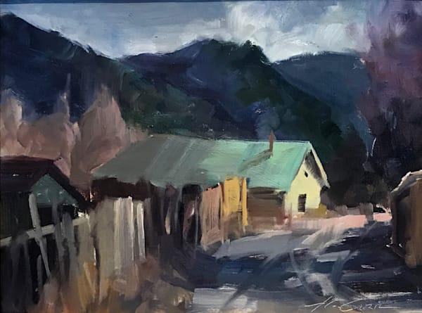 Howard Carr Taos Barn | Southwest Art Gallery Tucson | Madaras