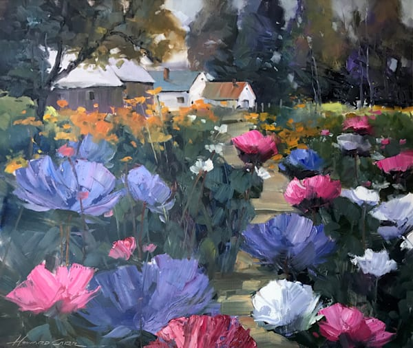 Howard Carr Flower Farm | Southwest Art Gallery Tucson