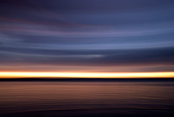 Fine Art Photography- Sunset in Motion