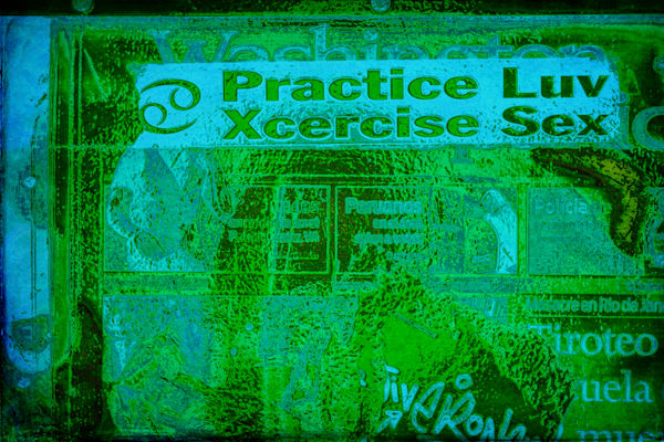 Practice Luv Xcercise Sex|Fine Art Photography by Todd Breitling|Graffiti and Street Photography|Todd Breitling Art