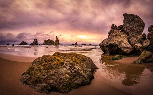 Bandon Alcove Photography Art | Derrick Snider Imagery