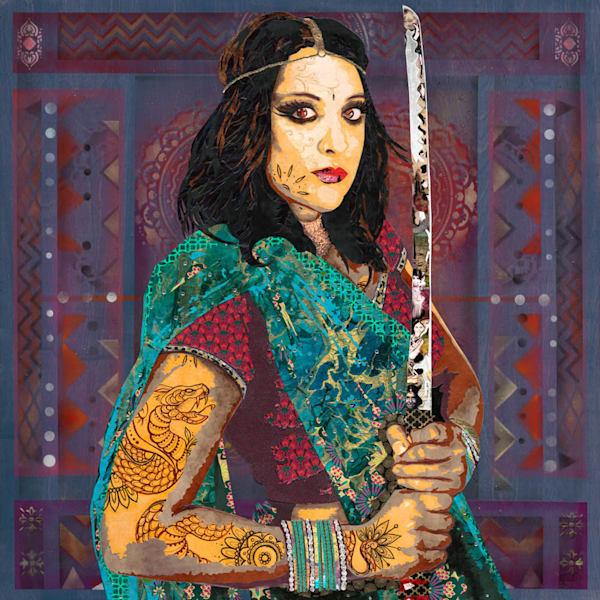 Asia Ii   India Art | Made by Kristi