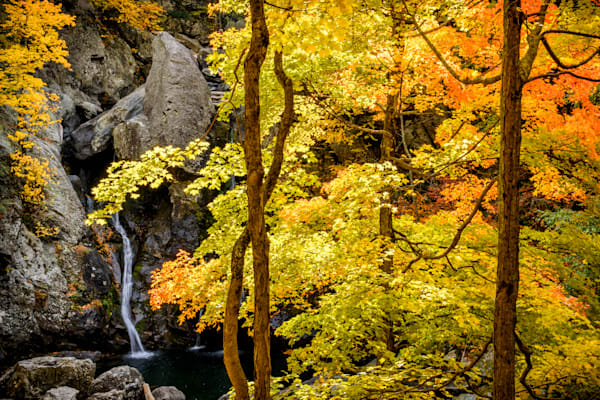 Bash Bish Falls Autumn