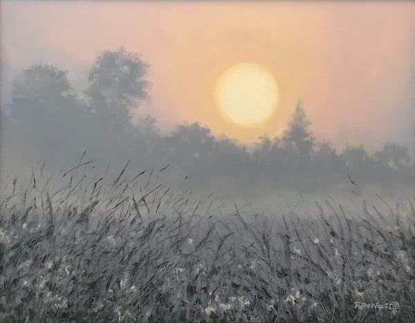 Morning Mist by Richard De Wolfe | SavvyArt Market original painting