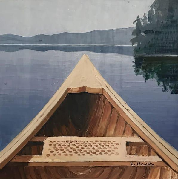 Bow - Small I by Brigitte Nowak | SavvyArt Market original oil painting
