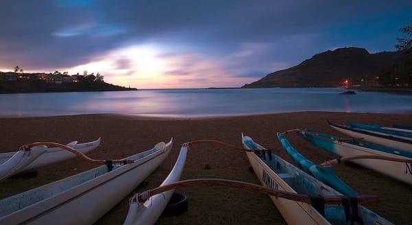 Kalapaki Canoes Photography Art | Inspiring Images
