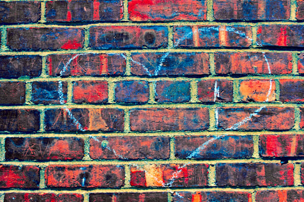 Brick Wall Love|Fine Art Photography by Todd Breitling|Graffiti and Street Photography|Todd Breitling Art