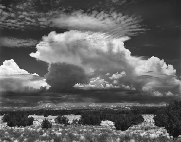 Castle Cloud, New Mexico Skies