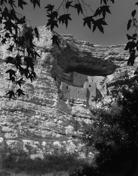 Montezuma's Castle photograph cliff house