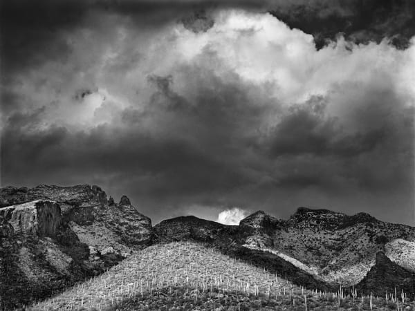 Winter Storm, Finger Rock Canyon photograph