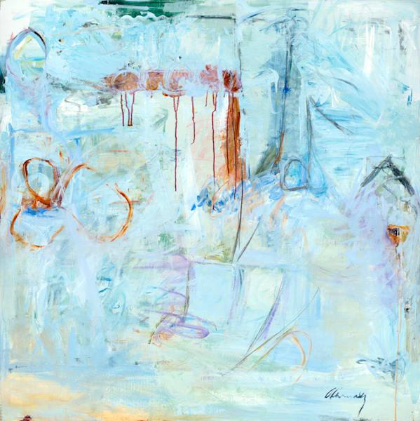 Progress Not Perfection Art | Amy Cannady Studio