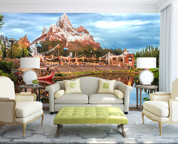 Calm Expedition - Disney Mural | William Drew Photography
