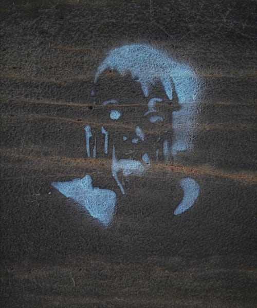 Spectral Figure|Fine Art Photography by Todd Breitling|Graffiti and Street Photography|Todd Breitling Art