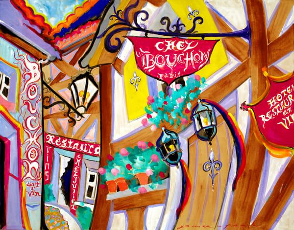 Cafe Buchon Paris Art | Artiste Winery & Tasting Studio