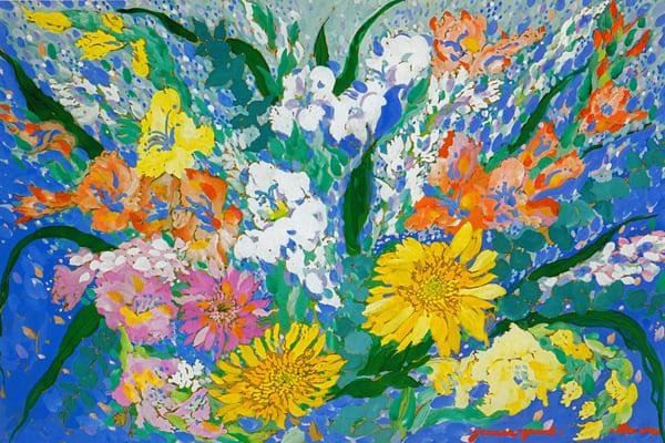 Flowers I Art | Artiste Winery & Tasting Studio