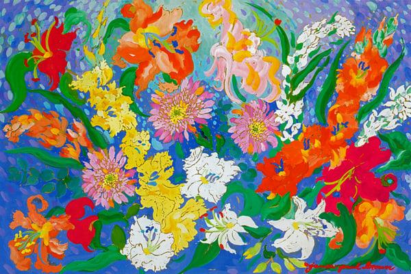 Flowers Iii Art | Artiste Winery & Tasting Studio