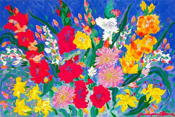Flowers Ii Art | Artiste Winery & Tasting Studio