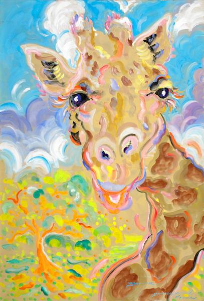 Jamina Giraffe Art | Artiste Winery & Tasting Studio